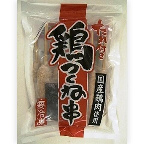 たれ付き鶏つくね串35g